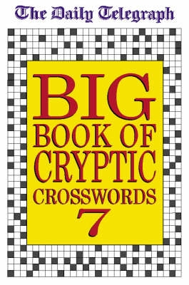 Book cover for Daily Telegraph Big Book of Cryptic...